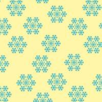 Трафарет лист-пленка ДЕКОРШОК снежинка голубая, 30 шт.
