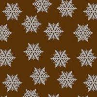 Трафаретный лист-пленка ДЕКОРШОК снежинка серебро, пакет 30 шт.