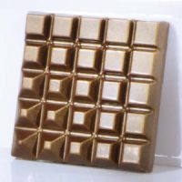 Форма для шоколадных плиток КВАДРАТ MA2014, 1 шт.