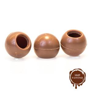 Трюфельные шарики из молочного шоколада ТРЮФЕЛЬ молочный, 504 шт.