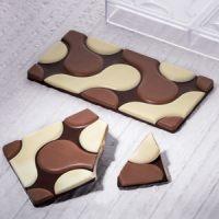 Форма для шоколадных плиток ФЛОУ, короб 1 шт.