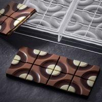 Форма для шоколадных плиток МИШЕНЬ, короб 1 шт.