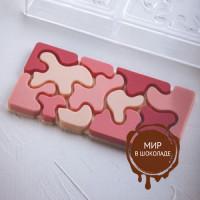 Форма для шоколадных плиток КАМУФЛЯЖ, короб 1 шт.