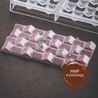 Форма для шоколадных плиток ПИКСИ короб 1 шт.