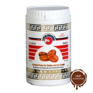Концентрированная паста Карамель FO Caramel Paste For Pastry & Ice Cream, 1,6 кг.