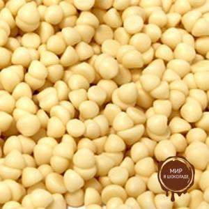 Глазурь белая Шоколадные капли термостабильные 1600,10 кг.