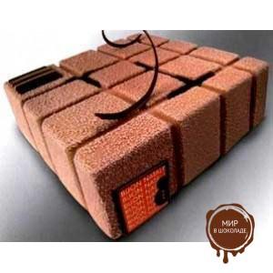 Шоколадный декор-аэрозоль ДОЛЬЧЕ ВЕЛЮТО коричневый, 1 шт.