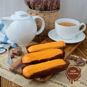 Глазурь эклер со вкусом пельсина FO Eclair Sauce Orange, 4 кг.