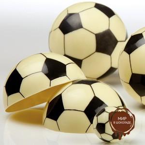 Форма-лист для декора БЛИСТЕРШОК футбол  (короб 10 шт.)
