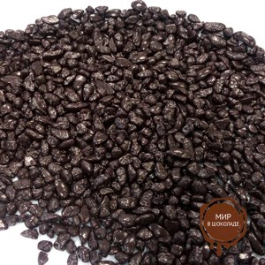 Посыпка шоколадная темная ГРАНЕЛЛИНА ГЛЯНЕЦ,10 кг.