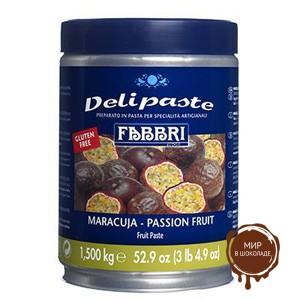Паста десертная Делипаст МАРАКУЙЯ, банка 1.5 кг.