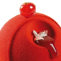 Шоколадный декор-аэрозоль ДОЛЬЧЕ ВЕЛЮТО 150 красный Италия