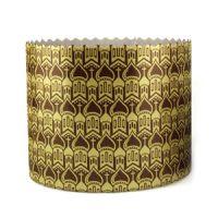 Форма бумажная для кулича PA70/60 золото КУПОЛА, 2000 шт.