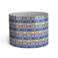 Форма бумажная для кулича PA90/90 золота КУПОЛА синяя, 2400 шт.