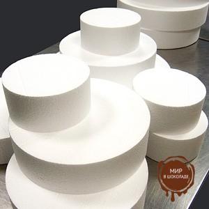 Форма муляжная для торта круглая 15 см. h 7см, 1 шт.