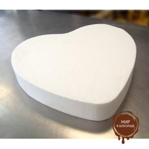 Форма муляжная для торта Сердце 30 см. h 7см , 1 шт.