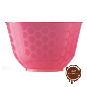 Креманка СКУП розовая 300 мл, короб 600 шт.
