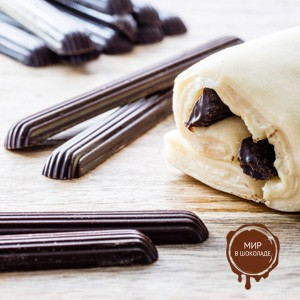 Изделия шоколадные ПАЛОЧКИ термостойкие, 1.6 кг.