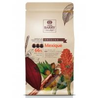 ТЕМНЫЙ КУВЕРТЮР MEXIQUE 66 % какао, монеты, Cacao Barry /Франция/, 1 кг.