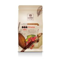 МОЛОЧНЫЙ КУВЕРТЮР GHANA 40,5% какао, монеты, Cacao Barry /Франция/, 1 кг.