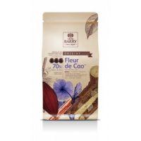 ТЕМНЫЙ КУВЕРТЮР «FLEUR DE CAO», 70% какао, монеты, 5 кг.