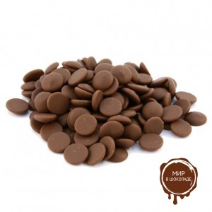 ГОРЬКИЙ ШОКОЛАД В ГАЛЕТАХ, 70,1% какао, SICAO Callebaut, 5 кг.