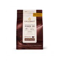 ГОРЬКИЙ ШОКОЛАД В ГАЛЕТАХ, 80,1% какао, Callebaut /Бельгия/, 2,5 кг.
