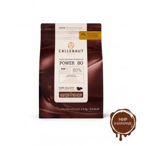 ГОРЬКИЙ ШОКОЛАД В ГАЛЕТАХ, 80,1% какао