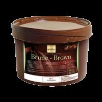 ТЕМНАЯ ГЛАЗУРЬ ДЛЯ ПОКРЫТИЙ БРЮН Pate a glacer 18% какао, Cacao-Barry, Франция, 5 кг.