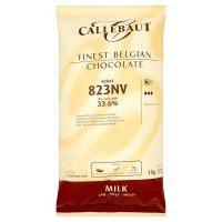 Молочный шоколад в галетах 33,6% Callebaut, 10 кг.