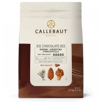 Шоколад молочный для мороженого Callebaut Ice Chocolate Milk (Бельгия), 2.5 кг.