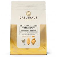 Шоколад карамельный для мороженого Callebaut Ice Chocolate Gold 35.9% (Бельгия), 2.5 кг.