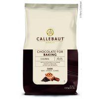 ШОКОЛАДНЫЕ КУСОЧКИ ТЕРМОСТОЙКИЕ ТЕМНЫЕ 39% какао, Саllebaut, 2,5 кг. Под заказ!