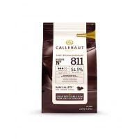 """Шоколад темный """"Callebaut"""", 54,5% какао,  каллеты 2,5 кг"""