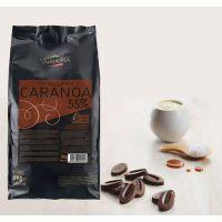Черный шоколад Караноа (с карамелью), 55% какао, Valrhona, 3 кг.