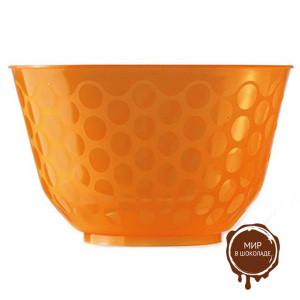 Креманка СКУП  оранжевая 500 мл,  короб 450 шт.