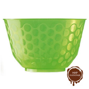 Креманка  СКУП  зеленая 400 мл,  короб 400 шт.