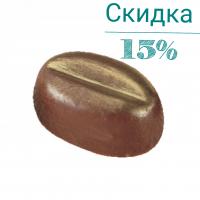 """Форма для конфет - """"Большое кофейное зерно"""" (PMA 1529), шт."""