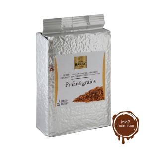 ДРОБЛЕНЫЙ КАРАМЕЛИЗОВАННЫЙ ФУНДУК, Callebaut, 1 кг.