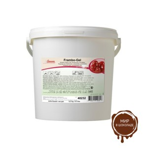 Малиновый гель красный, Carma/Швейцария, 12,5 кг.