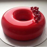 БРИЛО со вкусом клубники глазурь клубничная, вед 6 кг