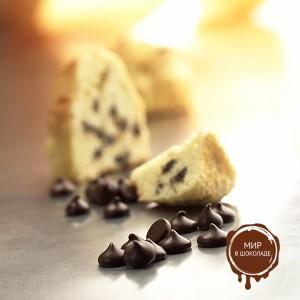 БЕЛКОЛАД. ГРЕЙНС НУАР СЕЛЕКСЬОН  темные шоколадные термостаб. капли, 15 кг