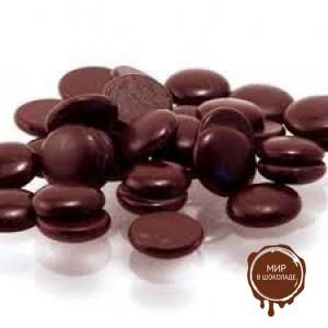БЕЛКОЛАД. НУАР СУПРИМ шоколад горький 71,4% в таблетках, 15 кг.