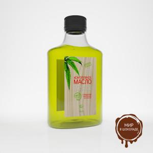 Конопляное масло с повышенным содержанием хлорофилла 100 мл, 10*1 шт.