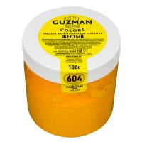 Краситель порошковый Guzman Желтый №604, 100 гр.