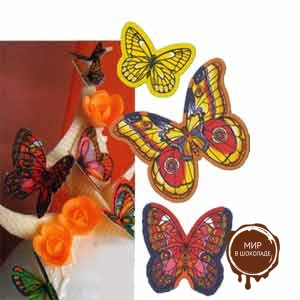 Вафельная бабочка (короб 260 шт.)