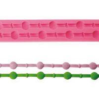 Форма силиконовый МОЛД БОРДЮРНЫЙ шарики ( 1 шт.)