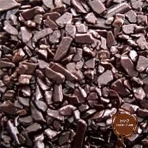 Посыпка шоколадная крошка темная, 10 кг.