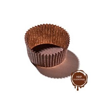 Капсула бумажная круглая №5 коричневая, короб 2000 шт.