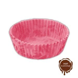 Капсула бумажная круглая №4 розовая 25х2000 шт. (короб 50000 шт.)